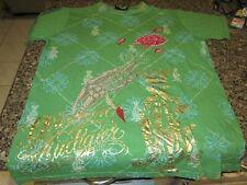 Christian Audigier T-Shirt - Green - Large - Los Angeles