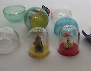 Lot Of 3 Toy Story Vending Machine Toys Tomy Jessie Bullseye