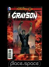 GRAYSON: FUTURES END #1A - 3D COVER