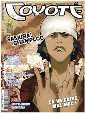 Revue COYOTE MAG numéro 16 MAGAZINE MANGA Yoko Player Okaz Novembre 2005 Epuisé