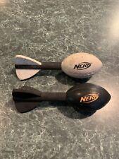 Lot of (2) Nerf Vortex Mini Footballs