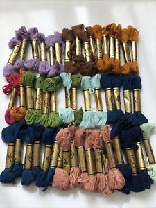 Vintage Embroidery Wool 50 Skeins Paterna Joblot Bundle