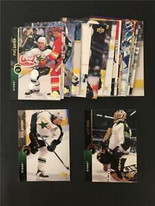 1994/95 Upper Deck Dallas Stars Team Set 22 Cards