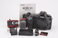EXC++ CANON EOS 5D Mark I BODY w/2BATTS, CHARGER, MANUAL, VERY CLEAN, TESTED