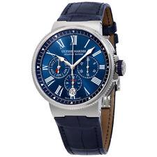 Ulysse Nardin Marine Automatic Mens Annual Calendar Watch 1533-150/43