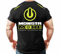 New Men's Monsta Clothing Fitness Gym T-shirt - Monsta Mode