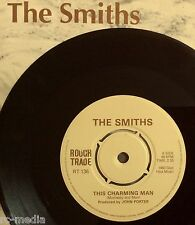 "SMITHS -Charming Man- Rare 7"" 4-Prong Centre/New Logo/Rare Later press/Glad Hips"