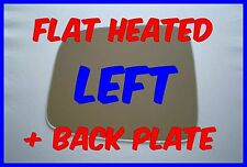 JEEP LIBERTY 2001-2007 DOOR MIRROR GLASS FLAT HEATED + BACKING PLATE LEFT