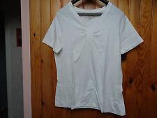 "Tee-shirt femme, marque ""CELAÏA"", taille 42/44, écru"