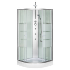 Cabine de douche complète Sanifun Italo 90 x 90.