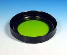 Ø77mm Grünfilter green filter mit integrierter Sonnenblende lens hood - (203984)
