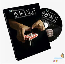 Recommend! Impale (DVD and Gimmick) by Jason Yu,Close Up Magic,street magic tric