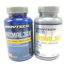 BodyTech PrimalJax Longjax, Arginine, Tribulus, & More 120 Capsules Lot of 2