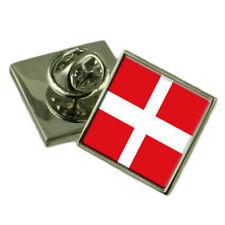 SOVRANO MILITARE ORDINE MALTA bavero Pin Argento Sterling 925 BADGE incisa BOX