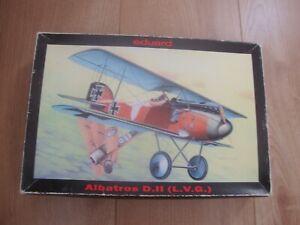 L215 Eduard Model Kit 8080 - Albatros D II (L.V.G.) - 1/48