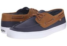 New VANS Mens 7 Womens 8.5 Chauffeur SF C&L Navy Chambray Blue Surf Sneakers