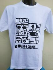 "Japanese Mecha Robot Gundam Gunpla T-Shirt Bandai Manga - Large 44"" chest"