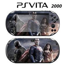 Vinyl Decal Skin Sticker for Sony PS Vita Slim 2000 Superheroes