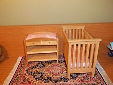 BEAUTIFUL QUALITY NURSERY SET  - DOLL HOUSE MINIATURE