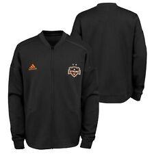 Adidas MLS Youth Houston Dynamo Anthem Zip Up Jacket