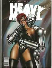 Heavy Metal Magazine Jan 1990 Ovi Hondru Cover!