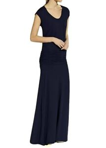 ME + EM Navy Ruched-Jersey Maxi Dress Size XL Hardly Worn RRP £150.00