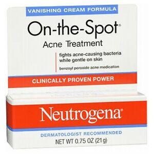 Neutrogena On-The-Spot Acne Treatment Vanishing Cream F