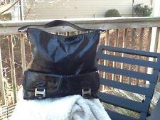 Michael Kors Black Patent Leather Ranger Bag !!EUC!!!!!