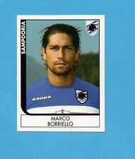 PANINI CALCIATORI 2005-2006- Figurina n.405- BORRIELLO - SAMPDORIA -NEW