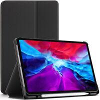Apple iPad Pro 12.9 2020 Case, Cover, Stand, Smart Auto Sleep Wake - Black