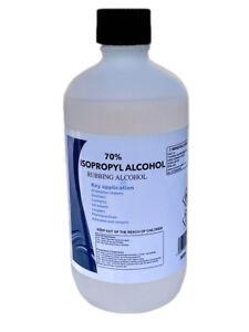 Isopropyl Alcohol 70 % Pure IPA Isopropanol 500ml Rubbing Alcohol