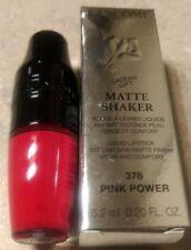 NEW!! LANCOME Matte Shaker Liquid Lipstick (No. 378 Pink Power) (Full Size) NIB