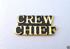 CREW CHIEF Military Veteran US AIR FORCE Hat Pin 15247 HO
