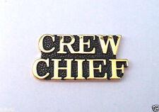 CREW CHIEF Military Veteran US AIR FORCE Hat Pin 15247 HO