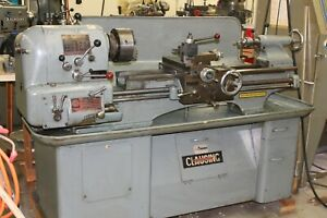 """Clausing Colchester 13"""" X 36"""" Engine Lathe"""