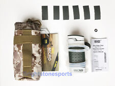 Micro Soldier Water Filter for Camping Hiking Hunting Portable White&Black