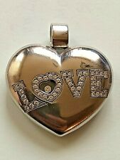 Chopard Happy Diamond 'love' Large Puffed Heart Pendant Charm 30.9 gr
