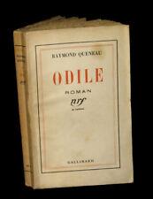 [OULIPO PATAPHYSIQUE] QUENEAU (Raymond) - Odile. EO.
