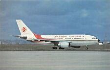 Air Algerie Airbus A310-203 7T-VJC  Airplane Postcard