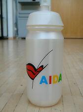 orig. AIDA Das Clubschiff Fahrrad - Trinkflasche perlmutt/weiß 0,5l aus 2015 neu