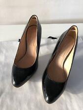 Siren black patent heel. Size 5