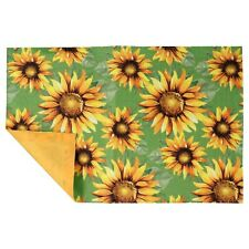 """New listing Home Collection Sunflower Printed Kitchen Linen Polyester Placemat 12"""" X 18"""""""
