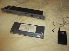 Samson Concert Lavalier Wireless rackmount System and Body Pack 2 receivers!