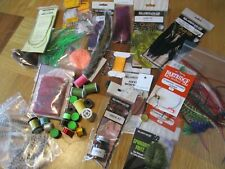 fly tying materials job lot threads tinsels feathers tools starter kit