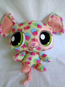 "Littlest Pet Shop HAPPIEST MOUSE 8"" Plush 2008 Hasbro Stuffed Animal Retired"