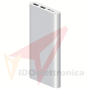 XIAOMI MI FAST CHARGE POWER BANK 2X USB-A TYPE-C CARICATORE PORTATILE CELLULARE