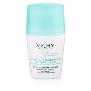 Vichy 48 Hour Anti-Perspirant Roll On Original for Intense Perspiration