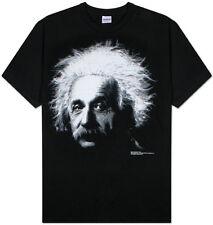 Albert Einstein Apparel T-Shirt M - Black