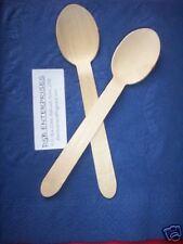Wooden Cutlery - Desert Spoons x 50