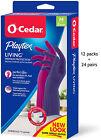 NIB AUTHENTIC Playtex Living Drip-Catch Cuff Premium Reusable Gloves, 24 Pairs photo